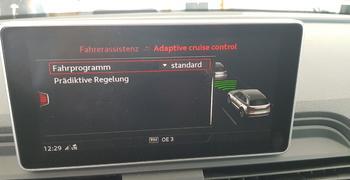 Audi ACC Adaptive Cruise Control