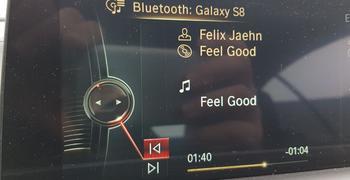 BMW Bluetooth Spotify