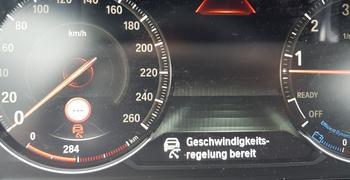 BMW Geschwindigkeitsregelung