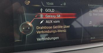 BMW Bluetooth Musik Streaming